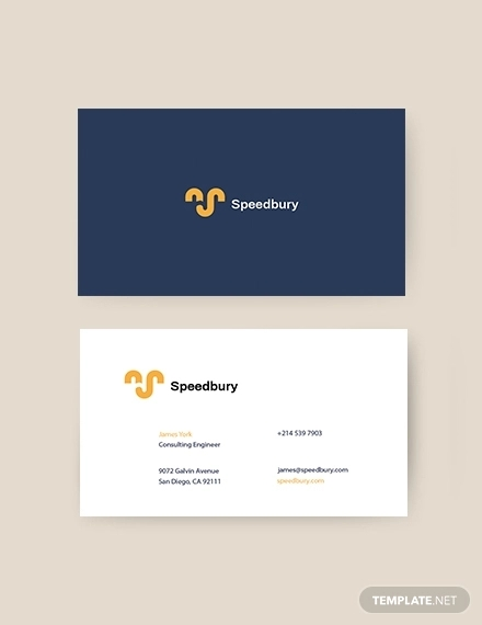 consulting engineer business card
