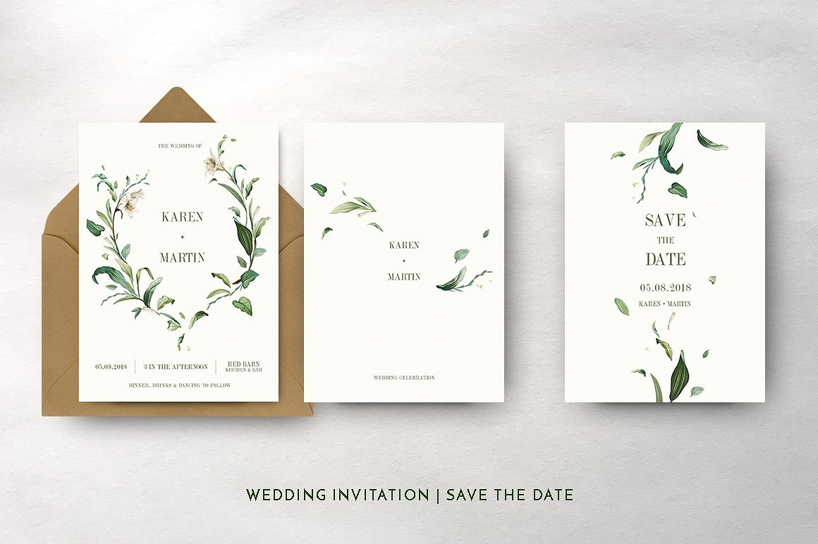 green-foliage-wedding-invitation-6-