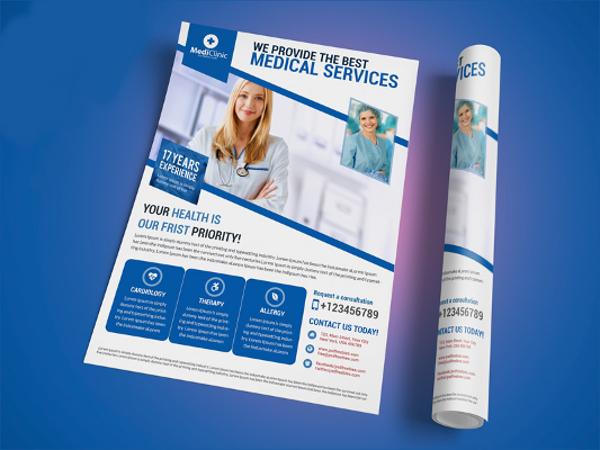 medical service flyer