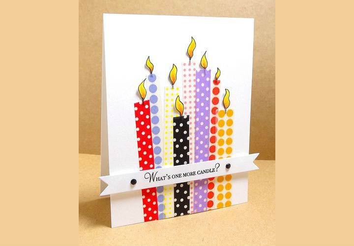 7f81a4605bc61efc28c8f7717bc5d836--birthday-candles-cards-diy
