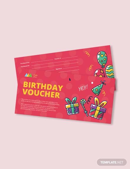 birthday coupon sample