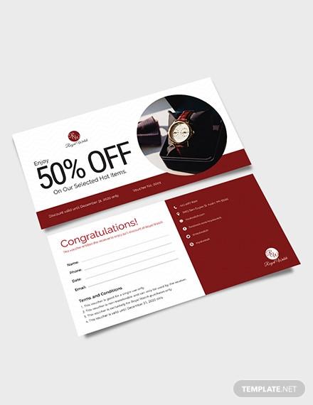 discount voucher template1